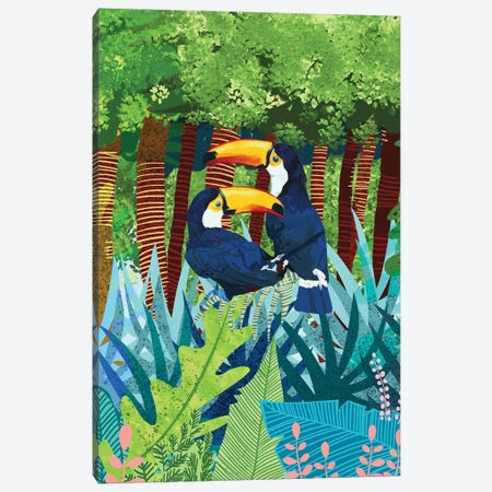 Toucans Canvas Print #UMA156} by 83 Oranges Canvas Art