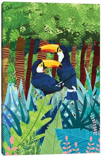 Toucans Canvas Art Print