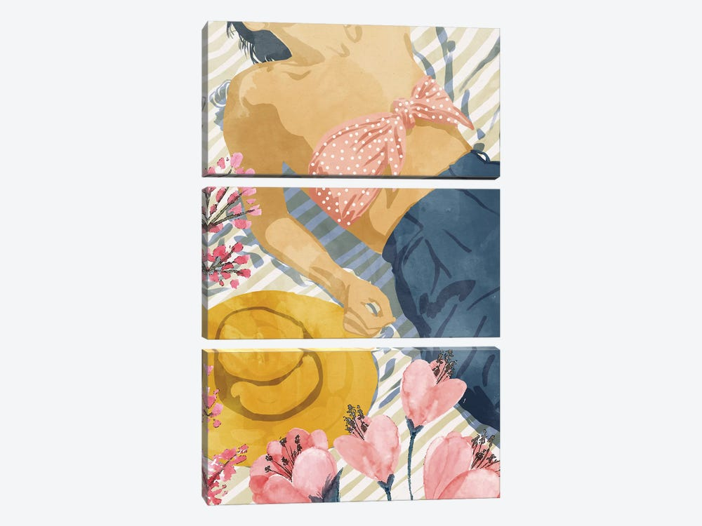 Beach Vacay by 83 Oranges 3-piece Art Print
