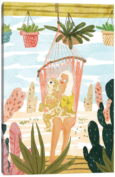 Desert Home Canvas Art Print