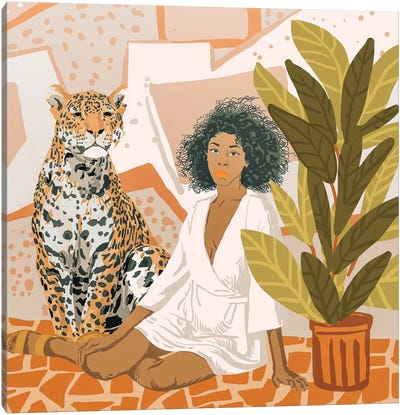 House Guest Canvas Art Print