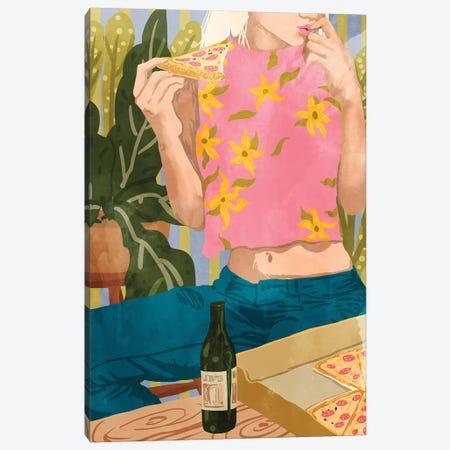 Pizza Canvas Print #UMA168} by 83 Oranges Canvas Artwork