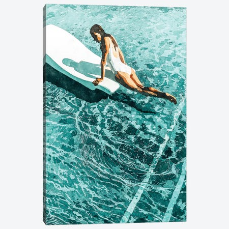 Pool Day Canvas Print #UMA169} by 83 Oranges Canvas Artwork