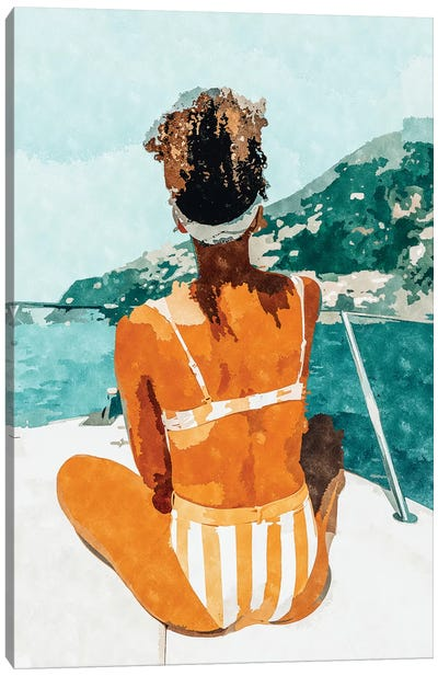 Solo Traveler Canvas Art Print