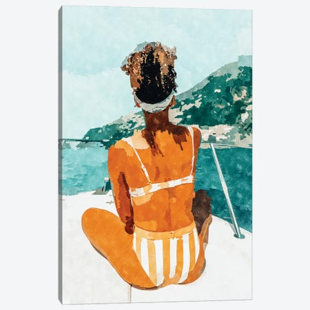Solo Traveler Canvas Print #UMA171} by 83 Oranges Canvas Art Print