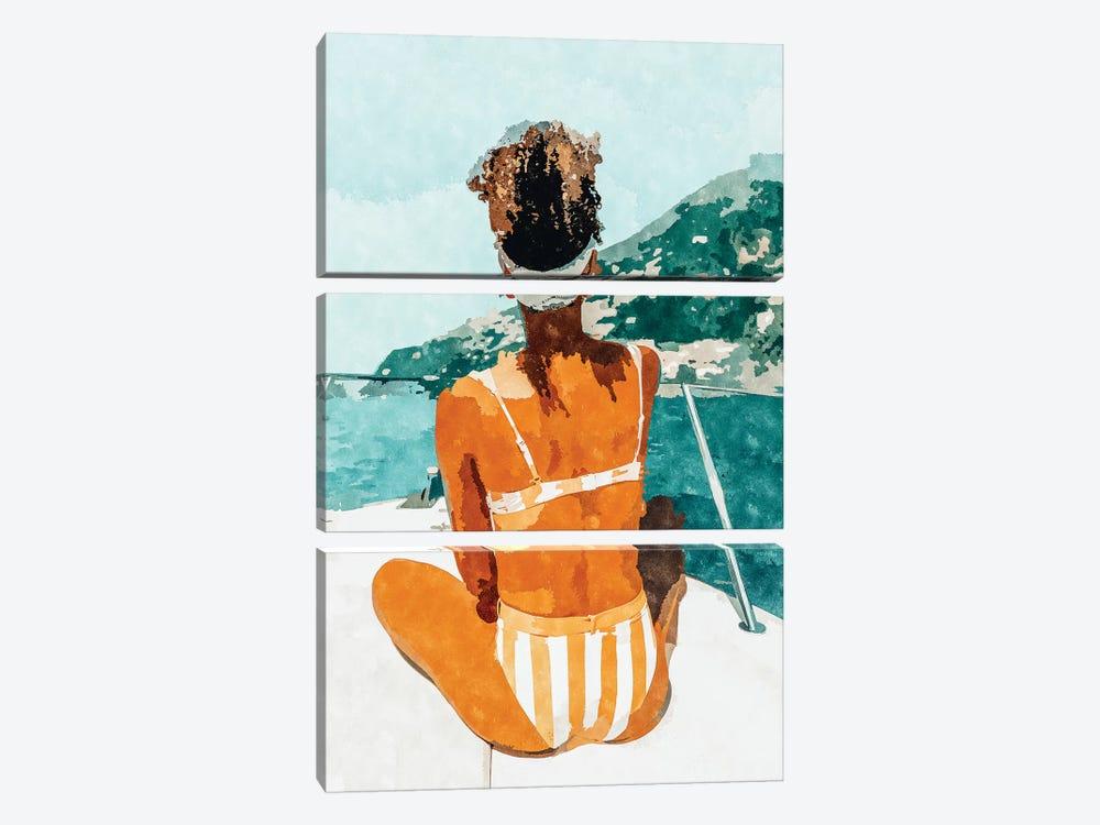 Solo Traveler by 83 Oranges 3-piece Canvas Art Print