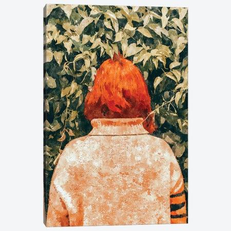 Surprise Visit Canvas Print #UMA172} by 83 Oranges Canvas Art Print