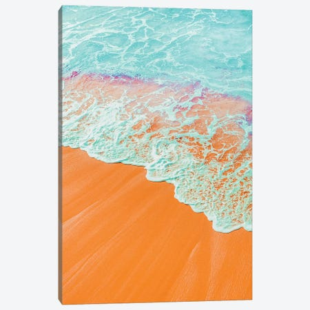 Coral Shore Canvas Print #UMA174} by 83 Oranges Canvas Art