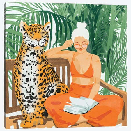 Jungle Vacay II Canvas Print #UMA179} by 83 Oranges Art Print