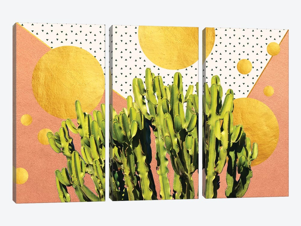 Cactus Dream by 83 Oranges 3-piece Art Print