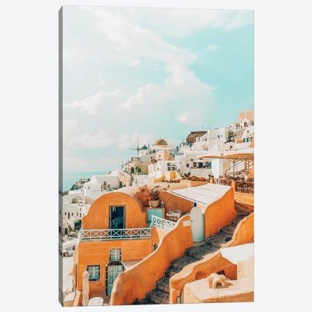 Santorini II Canvas Print #UMA183} by 83 Oranges Canvas Artwork