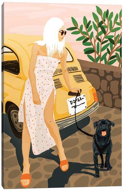 Tour Canvas Art Print