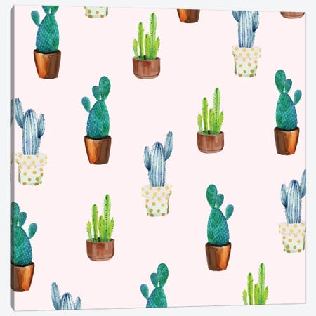 Cactus Formation Canvas Print #UMA18} by 83 Oranges Canvas Artwork