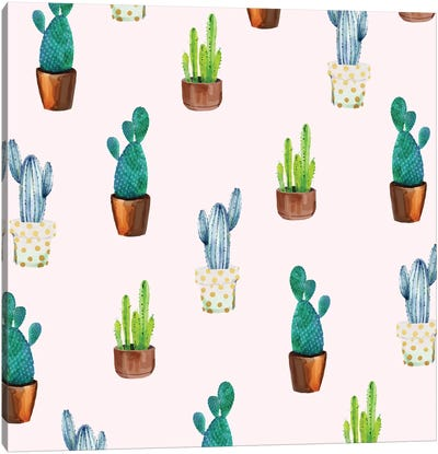 Cactus Formation Canvas Art Print