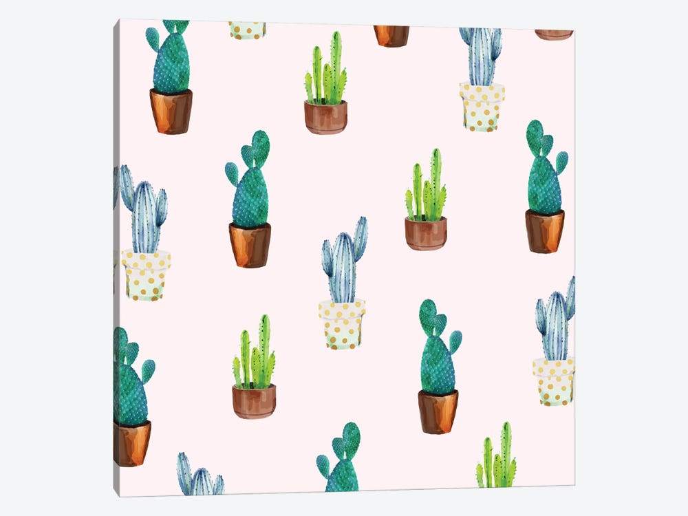 Cactus Formation by 83 Oranges 1-piece Canvas Artwork