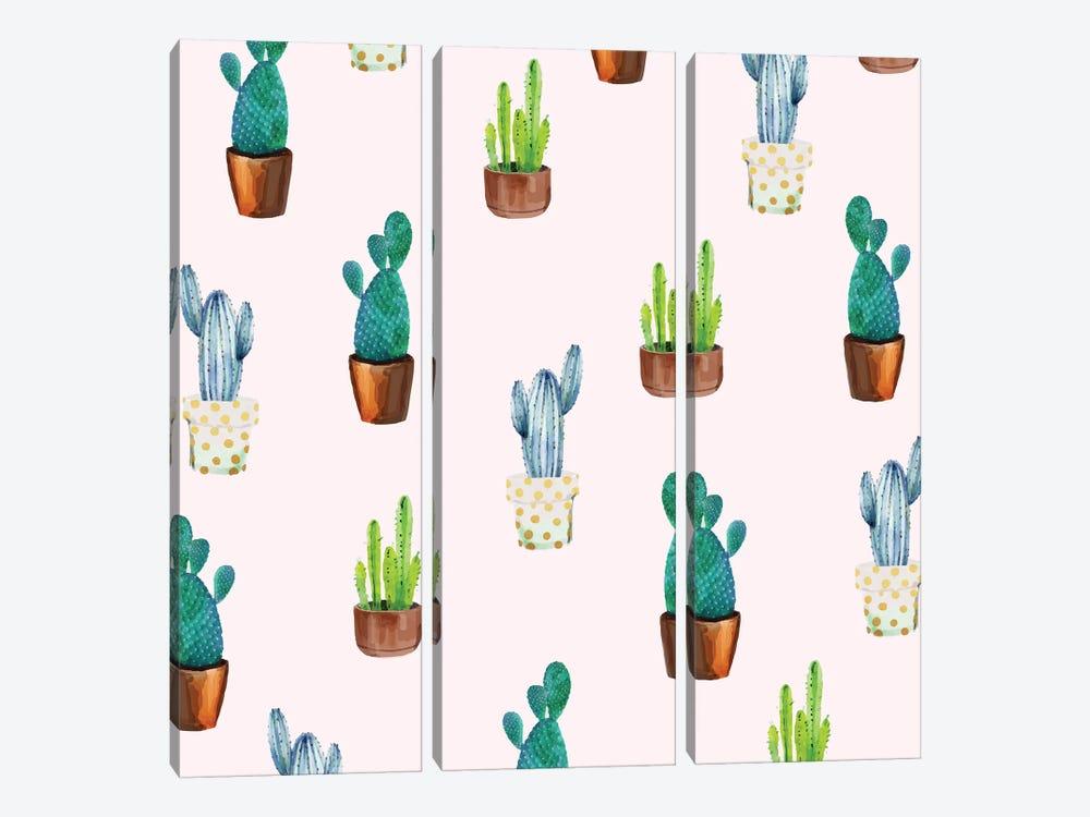 Cactus Formation by 83 Oranges 3-piece Canvas Artwork