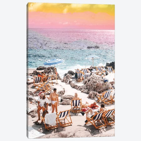 Beach Day II Canvas Print #UMA195} by 83 Oranges Canvas Artwork