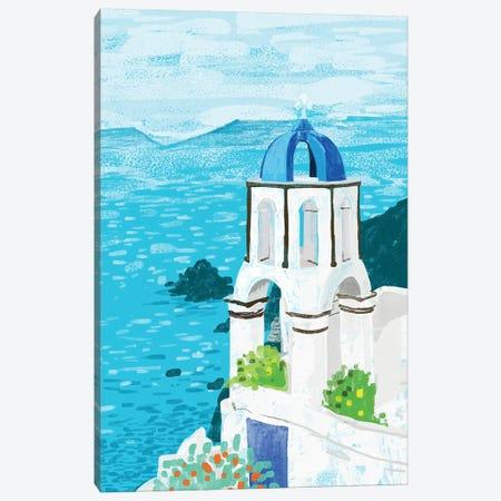 Greek Landscape Canvas Print #UMA203} by 83 Oranges Canvas Art Print
