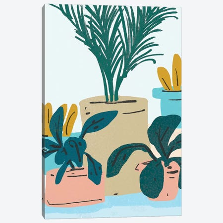 Little Plants Canvas Print #UMA204} by 83 Oranges Canvas Art