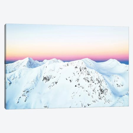 Snow Horizon Canvas Print #UMA208} by 83 Oranges Canvas Print