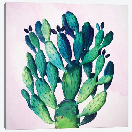 Cactus Plant Canvas Print #UMA20} by 83 Oranges Canvas Art Print