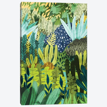Wild Jungle II Canvas Print #UMA216} by 83 Oranges Canvas Art Print