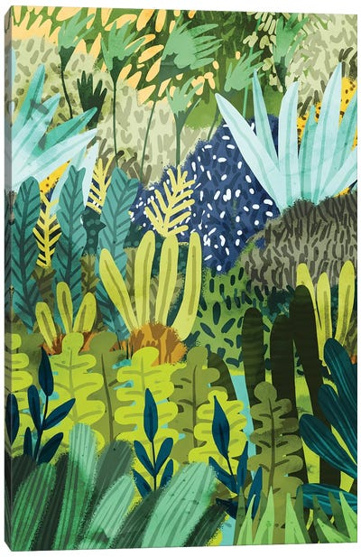 Wild Jungle II Canvas Art Print
