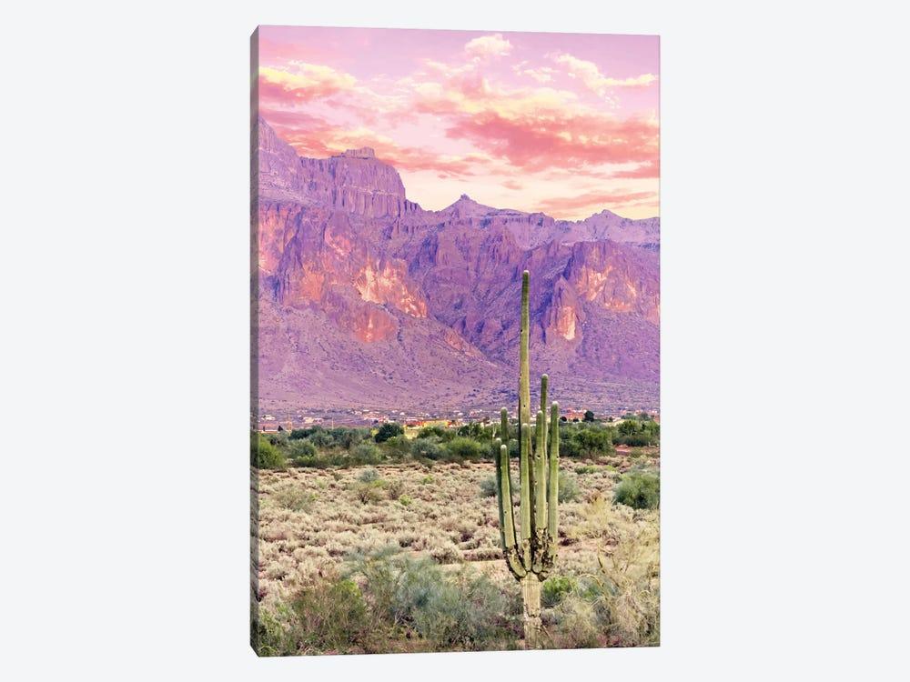 Cactus Sunset by 83 Oranges 1-piece Canvas Art Print