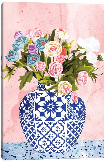 Ceramic Planter Canvas Art Print