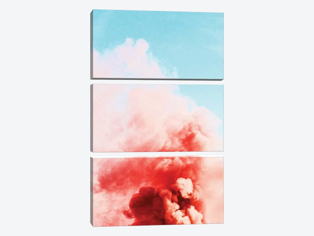 Candy Smoke by 83 Oranges 3-piece Canvas Art Print