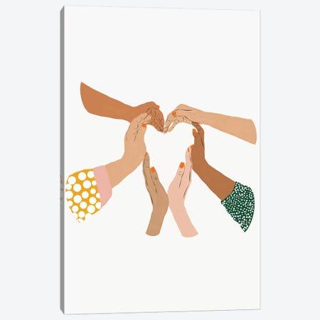 Indescrimination Canvas Print #UMA235} by 83 Oranges Art Print