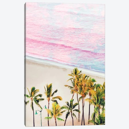 Pink Ocean Canvas Print #UMA241} by 83 Oranges Canvas Art Print