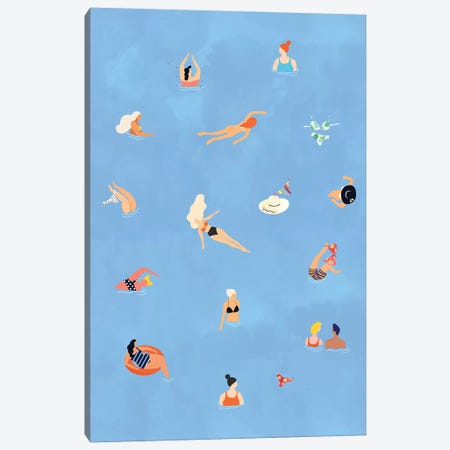 Summer Weekend Canvas Print #UMA244} by 83 Oranges Canvas Artwork