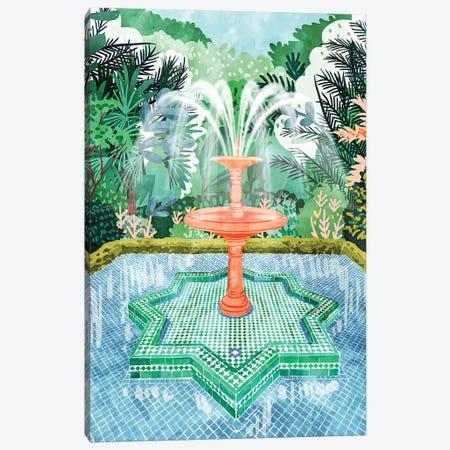 The Fountain Of Life Canvas Print #UMA246} by 83 Oranges Canvas Art