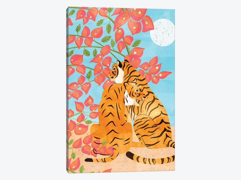 Tiger Honeymoon by 83 Oranges 1-piece Canvas Wall Art