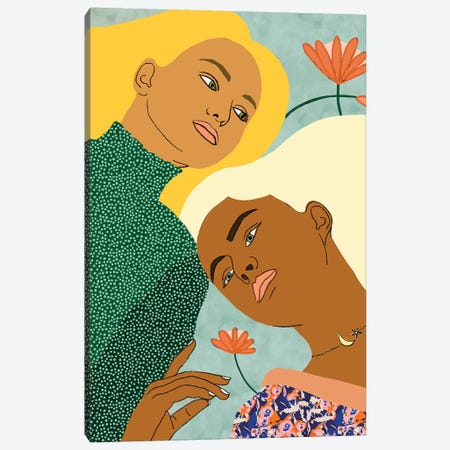 Two Souls One Body II Canvas Print #UMA250} by 83 Oranges Canvas Art