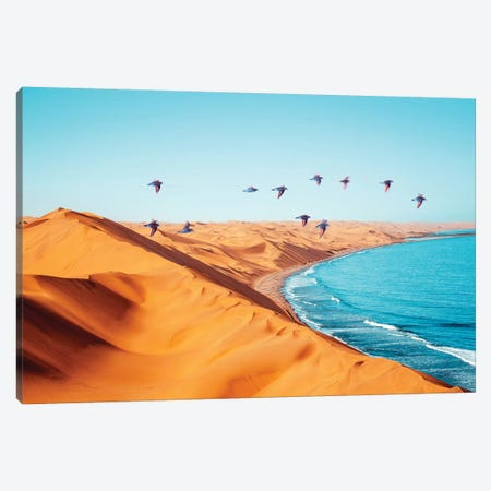 Desert Birds Canvas Print #UMA254} by 83 Oranges Canvas Print