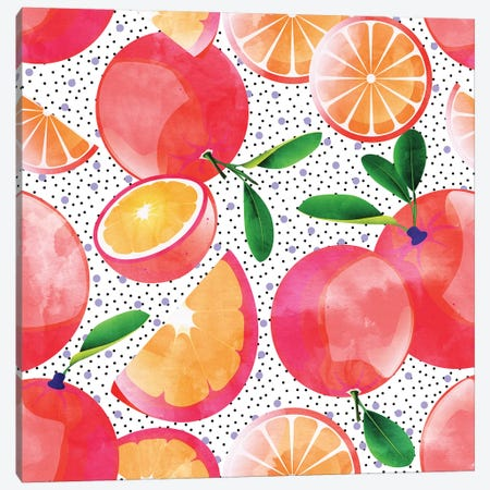 Citrus Love Canvas Print #UMA256} by 83 Oranges Canvas Art Print