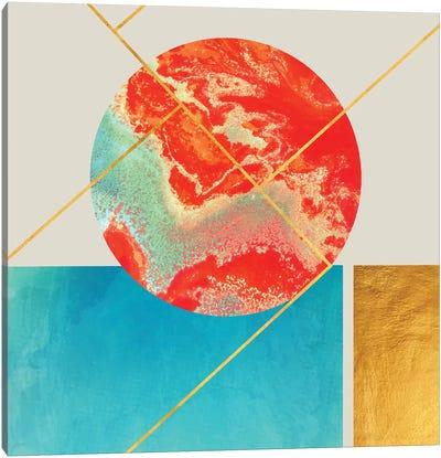 Earth Sea Canvas Art Print