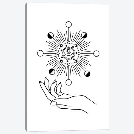 I Rule The Sun, The Moon & All The Stars Canvas Print #UMA260} by 83 Oranges Art Print
