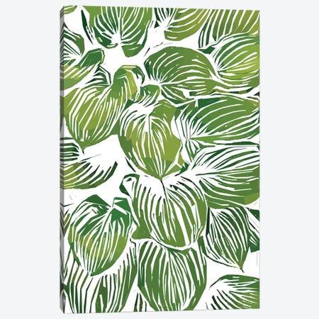 Wild Leaves III Canvas Print #UMA277} by 83 Oranges Art Print