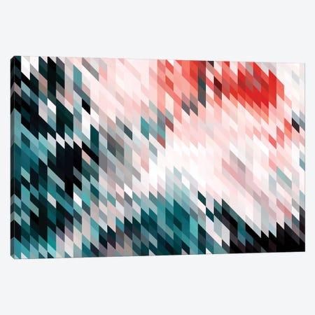 Dark & Blush Canvas Print #UMA279} by 83 Oranges Canvas Wall Art