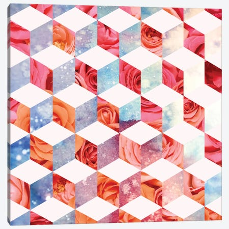 Eve's Sweet Garden Of Roses Canvas Print #UMA27} by 83 Oranges Canvas Artwork