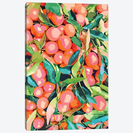 Fruit Garden Canvas Print #UMA287} by 83 Oranges Canvas Wall Art