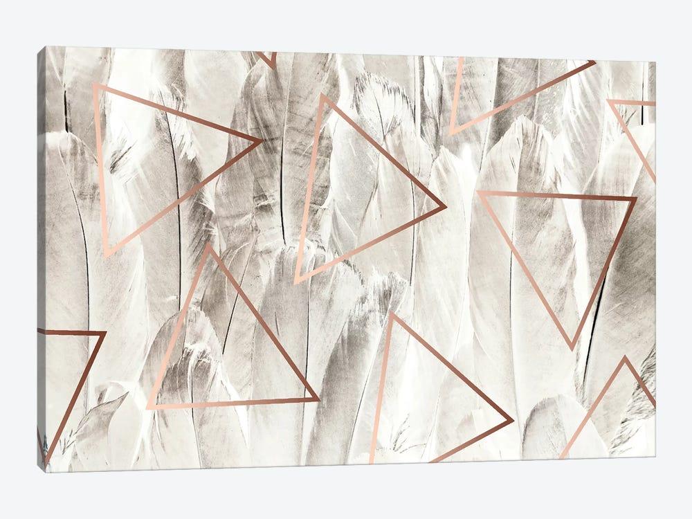 Copper Feathers by 83 Oranges 1-piece Art Print