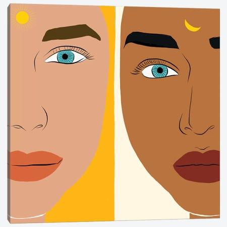 Day & Night Canvas Print #UMA309} by 83 Oranges Canvas Art