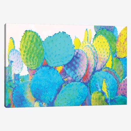 Holograph Cactus Canvas Print #UMA312} by 83 Oranges Canvas Print