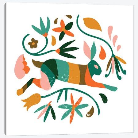 Rustic Jungle Canvas Print #UMA319} by 83 Oranges Art Print