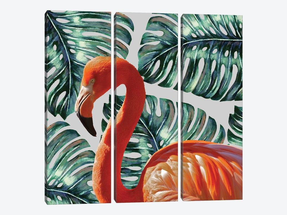 Flamingo by 83 Oranges 3-piece Canvas Art Print