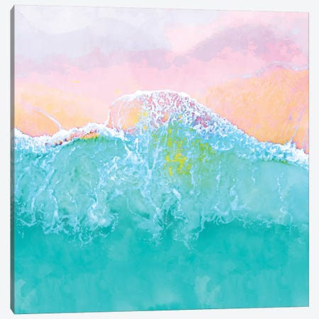 The Sea Canvas Print #UMA323} by 83 Oranges Canvas Artwork